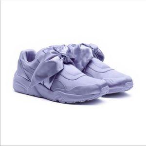 Fenty Puma by Rihanna trinomic satin bow sneakers